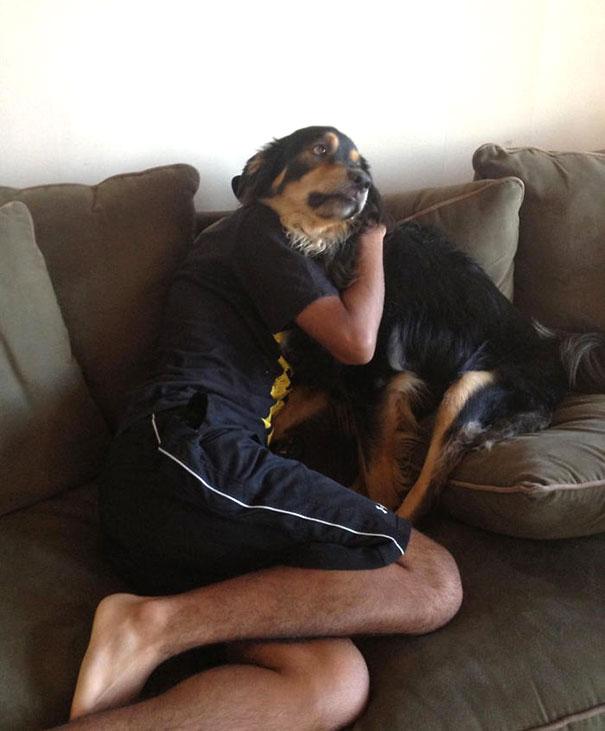 Fotos de cachorros tiradas no momento certo (5)
