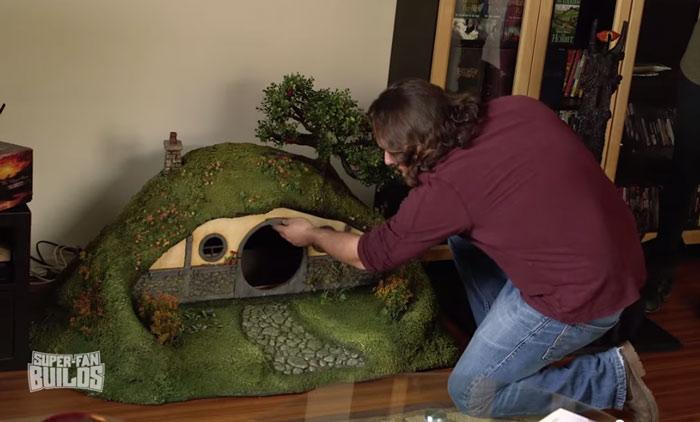 Casinha para gato de O Hobbit (12)