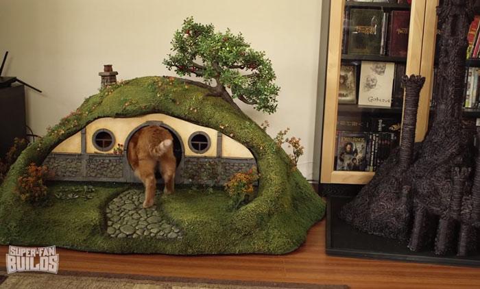 Casinha para gato de O Hobbit (13)