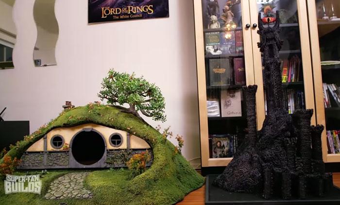 Casinha para gato de O Hobbit (9)