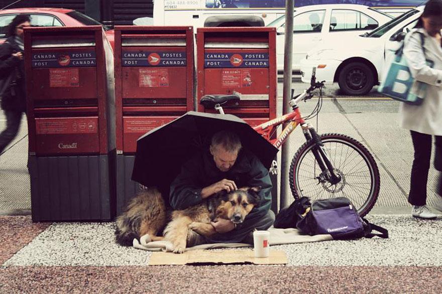 Cães amam seus donos, não importa quanto dinheiro eles tenham.. (13)