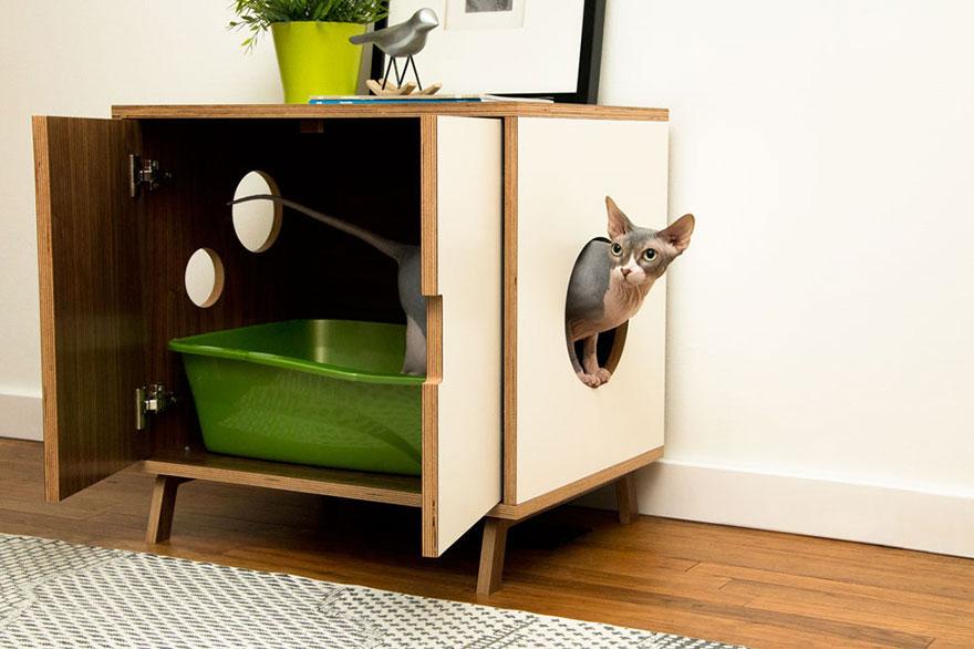 Mobília para amantes de gatos (11)