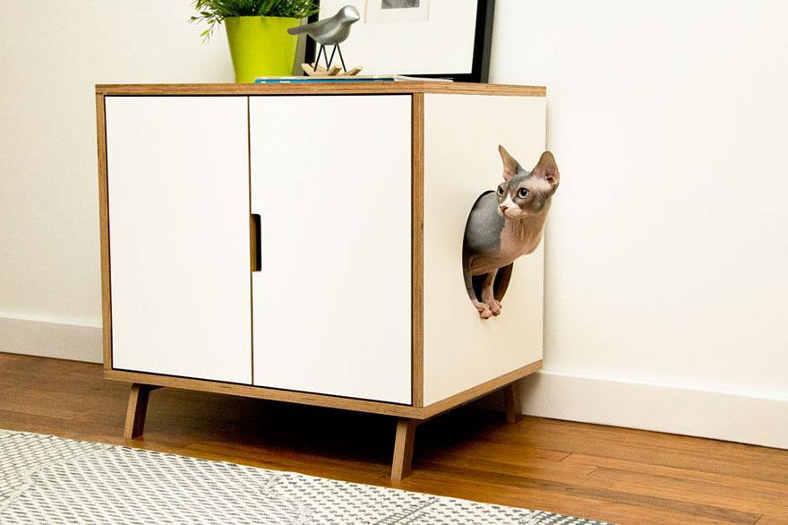 Mobília para amantes de gatos (12)