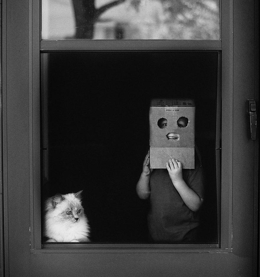 Fotos de crianças brincando com seus gatos (16)