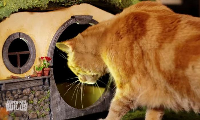 Casinha para gato de O Hobbit (15)
