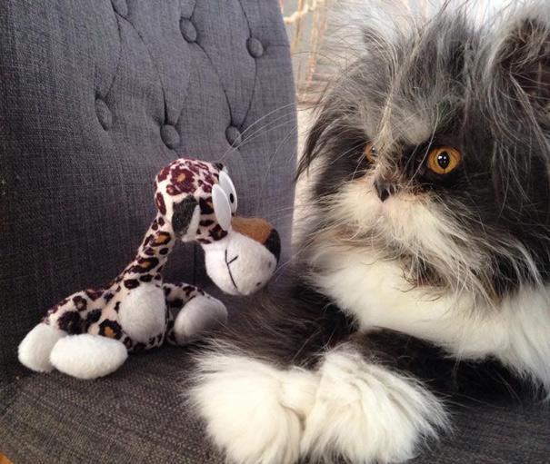 Atchoum O gato cujo o olhar irá devorar sua alma (13)