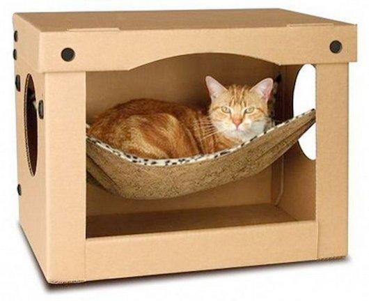 ideias-criativas-de-casinhas-de-papelão-para-gatos (14)