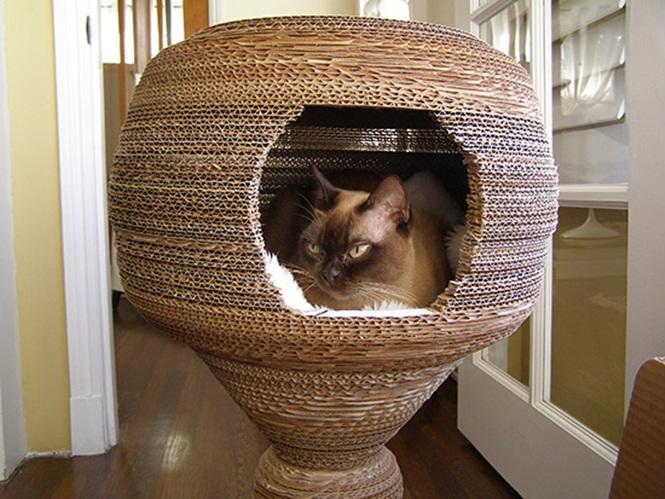 ideias-criativas-de-casinhas-de-papelão-para-gatos (4)