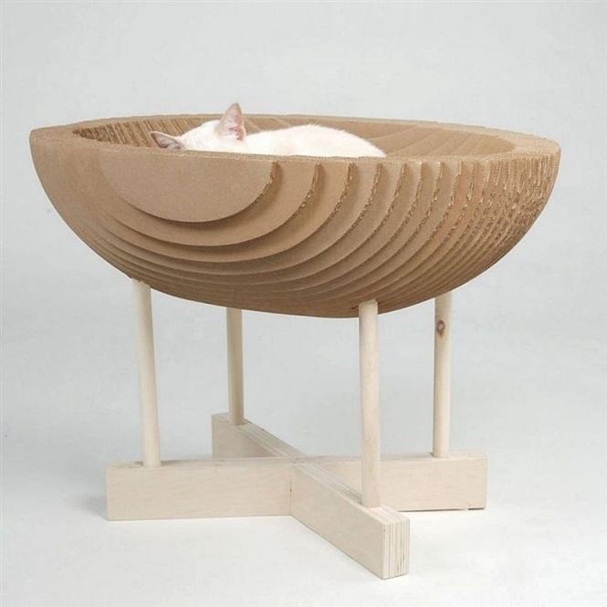 ideias-criativas-de-casinhas-de-papelão-para-gatos (5)