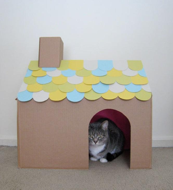 ideias-criativas-de-casinhas-de-papelão-para-gatos (7)