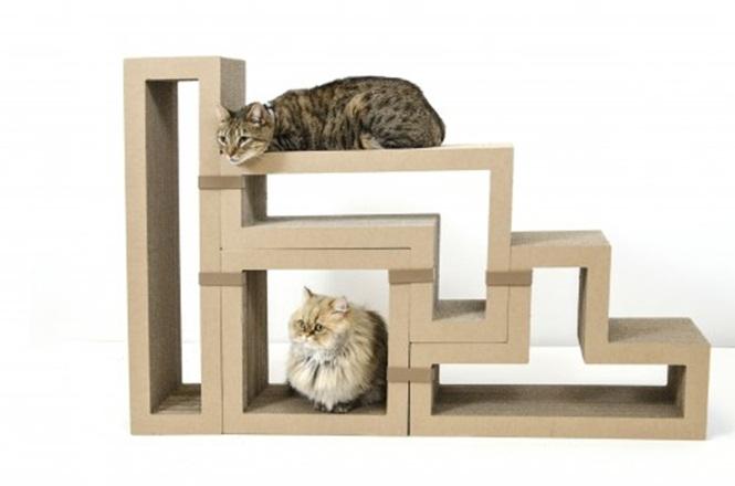 ideias-criativas-de-casinhas-de-papelão-para-gatos (9)